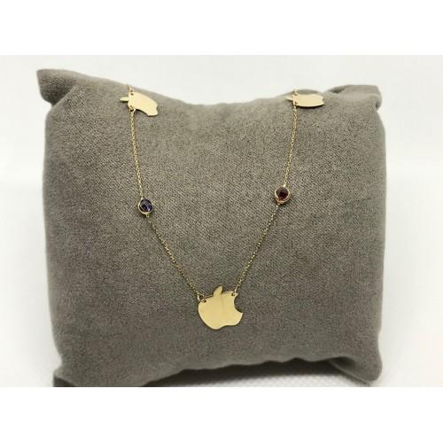 Altın Kolye - Elmalı Tiffany Modeli