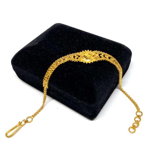 22 Ayar Hint Model Altın Bileklik - KB0289